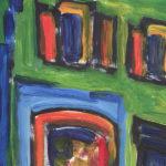 la=maison-verte-het-groene-huis-detail-acryl