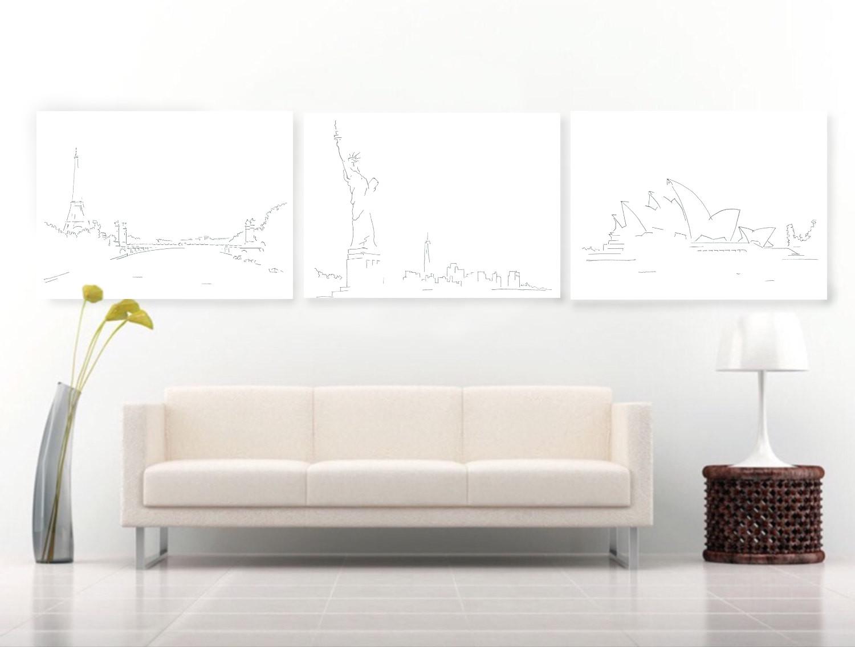 wereldsteden-tekeningen-lijst