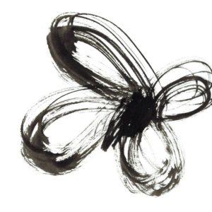 tekening-oost-bndische-inkt-vlinder