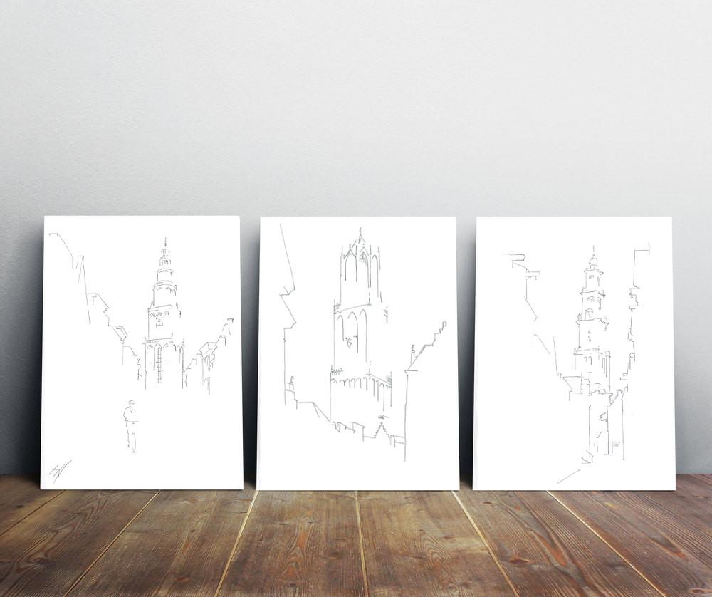 torens-tekeningen-nederland